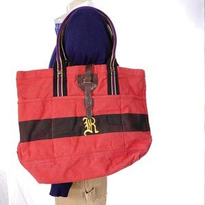 Ralph Lauren Rugby Canvas Carryall Tote Bag NWT $9